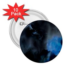 Space Star Blue Sky 2 25  Buttons (10 Pack)
