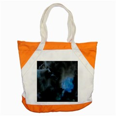 Space Star Blue Sky Accent Tote Bag by Mariart