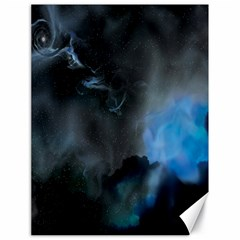 Space Star Blue Sky Canvas 18  X 24   by Mariart