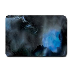 Space Star Blue Sky Small Doormat  by Mariart