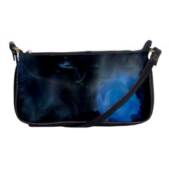 Space Star Blue Sky Shoulder Clutch Bags by Mariart