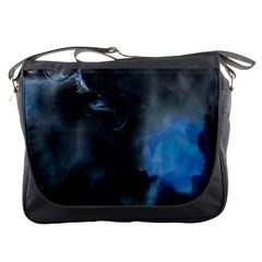 Space Star Blue Sky Messenger Bags by Mariart