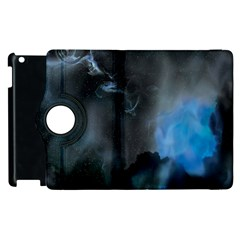 Space Star Blue Sky Apple Ipad 3/4 Flip 360 Case by Mariart