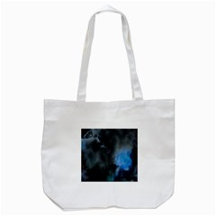 Space Star Blue Sky Tote Bag (white) by Mariart