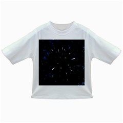 Space Warp Speed Hyperspace Through Starfield Nebula Space Star Line Light Hole Infant/toddler T Shirts