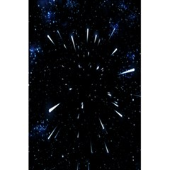 Space Warp Speed Hyperspace Through Starfield Nebula Space Star Line Light Hole 5 5  X 8 5  Notebooks by Mariart