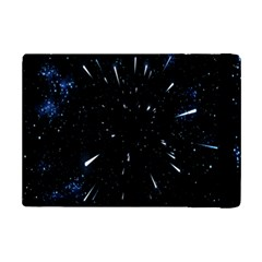 Space Warp Speed Hyperspace Through Starfield Nebula Space Star Line Light Hole Ipad Mini 2 Flip Cases by Mariart