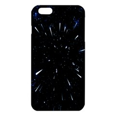 Space Warp Speed Hyperspace Through Starfield Nebula Space Star Line Light Hole Iphone 6 Plus/6s Plus Tpu Case by Mariart