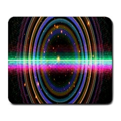 Spectrum Space Line Rainbow Hole Large Mousepads by Mariart