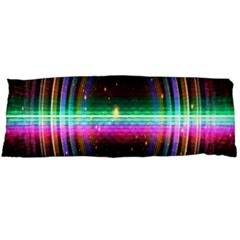Spectrum Space Line Rainbow Hole Body Pillow Case (dakimakura) by Mariart