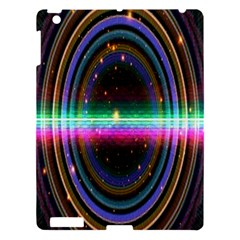 Spectrum Space Line Rainbow Hole Apple Ipad 3/4 Hardshell Case by Mariart