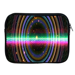 Spectrum Space Line Rainbow Hole Apple Ipad 2/3/4 Zipper Cases by Mariart