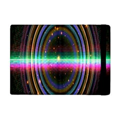 Spectrum Space Line Rainbow Hole Ipad Mini 2 Flip Cases by Mariart