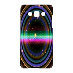 Spectrum Space Line Rainbow Hole Samsung Galaxy A5 Hardshell Case  by Mariart