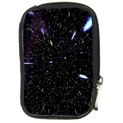 Space Warp Speed Hyperspace Through Starfield Nebula Space Star Hole Galaxy Compact Camera Cases by Mariart