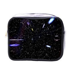 Space Warp Speed Hyperspace Through Starfield Nebula Space Star Hole Galaxy Mini Toiletries Bags by Mariart