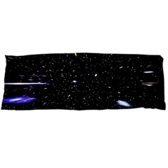 Space Warp Speed Hyperspace Through Starfield Nebula Space Star Hole Galaxy Body Pillow Case Dakimakura (two Sides) by Mariart