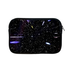 Space Warp Speed Hyperspace Through Starfield Nebula Space Star Hole Galaxy Apple Ipad Mini Zipper Cases