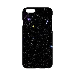 Space Warp Speed Hyperspace Through Starfield Nebula Space Star Hole Galaxy Apple Iphone 6/6s Hardshell Case by Mariart