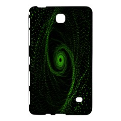 Space Green Hypnotizing Tunnel Animation Hole Polka Green Samsung Galaxy Tab 4 (7 ) Hardshell Case  by Mariart