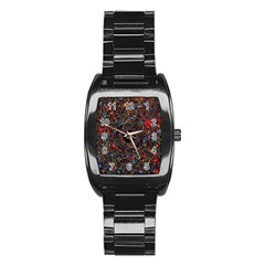 Space Star Light Black Hole Stainless Steel Barrel Watch by Mariart