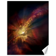 Sun Light Galaxy Canvas 18  X 24   by Mariart