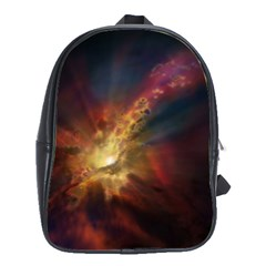 Sun Light Galaxy School Bag (large)