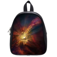 Sun Light Galaxy School Bag (small) by Mariart