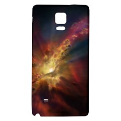 Sun Light Galaxy Galaxy Note 4 Back Case by Mariart