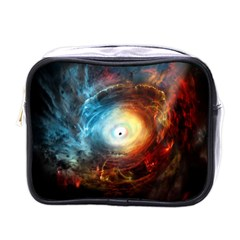 Supermassive Black Hole Galaxy Is Hidden Behind Worldwide Network Mini Toiletries Bags by Mariart
