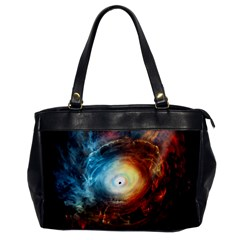 Supermassive Black Hole Galaxy Is Hidden Behind Worldwide Network Office Handbags by Mariart