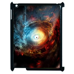 Supermassive Black Hole Galaxy Is Hidden Behind Worldwide Network Apple Ipad 2 Case (black) by Mariart
