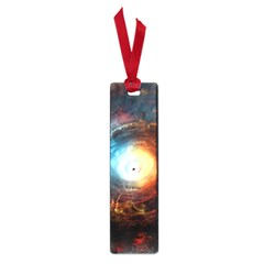Supermassive Black Hole Galaxy Is Hidden Behind Worldwide Network Small Book Marks by Mariart