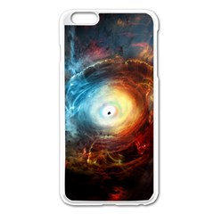 Supermassive Black Hole Galaxy Is Hidden Behind Worldwide Network Apple Iphone 6 Plus/6s Plus Enamel White Case by Mariart