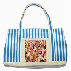 Stone Spot Triangle Striped Blue Tote Bag by Mariart