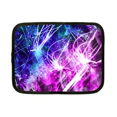Space Galaxy Purple Blue Netbook Case (small)  by Mariart