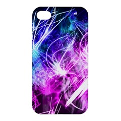 Space Galaxy Purple Blue Apple Iphone 4/4s Hardshell Case by Mariart