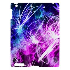 Space Galaxy Purple Blue Apple Ipad 3/4 Hardshell Case by Mariart