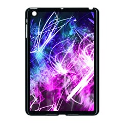 Space Galaxy Purple Blue Apple Ipad Mini Case (black) by Mariart