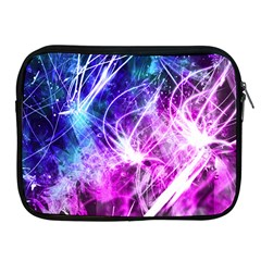 Space Galaxy Purple Blue Apple Ipad 2/3/4 Zipper Cases by Mariart