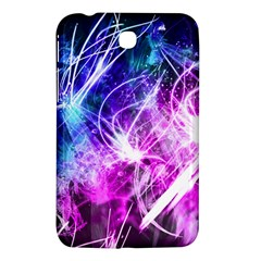 Space Galaxy Purple Blue Samsung Galaxy Tab 3 (7 ) P3200 Hardshell Case  by Mariart