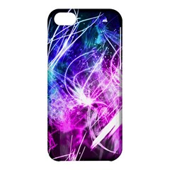 Space Galaxy Purple Blue Apple Iphone 5c Hardshell Case by Mariart