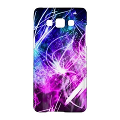 Space Galaxy Purple Blue Samsung Galaxy A5 Hardshell Case  by Mariart