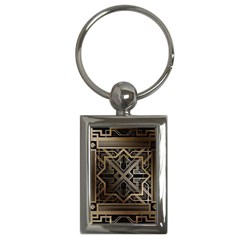 Art Nouveau Key Chains (rectangle)