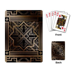 Art Nouveau Playing Card by 8fugoso