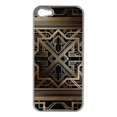 Art Nouveau Apple Iphone 5 Case (silver)