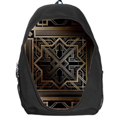 Art Nouveau Backpack Bag