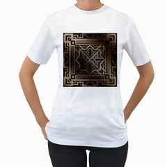 Art Nouveau Women s T Shirt (white)