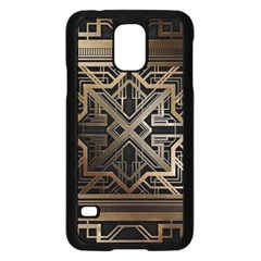 Art Nouveau Samsung Galaxy S5 Case (black) by 8fugoso