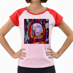 Abstract Tunnel Women s Cap Sleeve T Shirt by 8fugoso